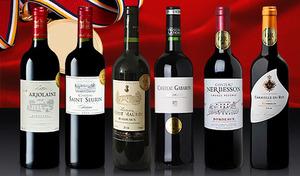 【送料込み】フランス・パリのワイン専門誌にて金賞受賞。奥深い味わいながらも軽やかな飲み口で楽しめる、ボルドー産赤ワイン6本セット《すべて金賞 ボルドー赤ワイン 6本セット》