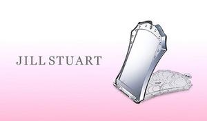 《ジルスチュアート コンパクトミラー》クリスタルのような輝きをちりばめたコンパクトミラー。メイクに便利なスタンディングタイプ