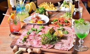 最大40%OFF ローストビーフ&ポーク食べ放題など全6品+飲み放題120分|NagaGutsu|大阪市北区 梅田駅