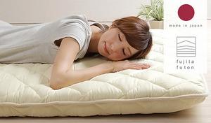 【3色展開】ウレタンを2枚使用し、床付き感のないふっくらとした寝心地を叶えるボリュームタイプ。抗菌防臭・防ダニ加工を施した5層構造の敷き布団《日本製 ウレタン入り5層式敷布団 シングルサイズ》