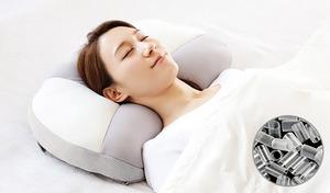 【2種展開】整形外科専門医と共同開発。好みの高さに微調節でき、首の筋肉をリラックスさせた寝姿を追求《お医者さんの(R)快適枕》通気性もよく快適な寝心地