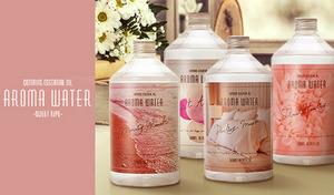 【52%OFF/2個セット/選べる4種類】心を癒やすような優しいアロマの香りを楽しめる。加湿器・アロマディフューザーで使えるフレグランスウォーター《アロマウォーター 500mL 2個セット》