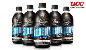 【送料込み】香料無添加・レギュラーコーヒー100%《UCC BLACK COLD BREW 500mL×48本》COLD BREW(低温・水出し)ならではの豊かな味わい。天然水で淹れる、澄み切った、クリアな味わい