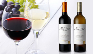 【送料込み】ワイン界で高い評価を得る「シャトー・モンペラ」のセカンドワインを、豪華な赤白セットでお届け。週末の贅沢や華やかなホームパーティーにもぴったり《モンペラスペシャルセレクション赤・白2本セット》