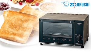 直径20cmのピザがそのまま入る、奥行き22cmの広い庫内。餅がたれずに上手に焼ける、目の細かい焼き網も付属《オーブントースター こんがり倶楽部 EQ-AA22-NM》