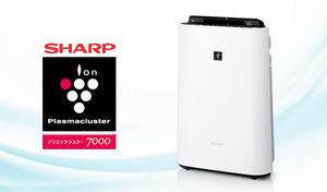 空気を浄化しながら、キレイな水で加湿を行う「加湿空気清浄機」。3つの高性能フィルターを搭載し、気になるニオイや微粒子もしっかり脱臭・集じん《シャープ 加湿空気清浄機 KC-H50-W》