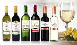 【送料込み】普段の食卓で気軽に開けて味わえるデイリーワイン。国際ワインコンクールにて受賞歴のある2本を含む、個性豊かな6種《毎日飲みたいカジュアルワイン赤白6本セット》