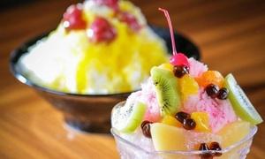 29%OFF 選べるかき氷(イチゴ、レモン、抹茶、白熊)|予約不要|八八八|大阪市中央区 心斎橋駅