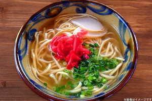 【1,000円】≪☆送料無料☆リピ決定!?もちもちしたコシのある麺が特徴です★沖縄の伝統料理をご家庭で気軽に楽しめる♪「沖縄そば6人前紅しょうが付き」≫