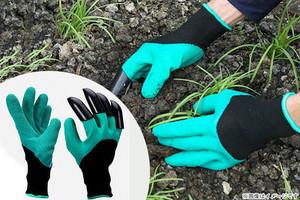 76%OFF【720円】≪☆送料無料☆手袋をしたまま土を掘る!右手の指先に頑丈なABS樹脂性の爪が付いたグローブです☆「穴堀りガーデングローブ 3組セット」≫