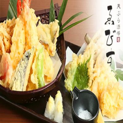 【全メニュー食べ飲み放題】自慢のヘルシーでサクサクな天ぷらで季節の旬を堪能。野菜、海鮮など90分間食べ放題《食べ放題・飲み放題コース》而今や獺祭など日替わりで店主厳選の日本酒も楽しめる