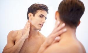最大61%OFF ヒゲ(目下~首)メンズ光脱毛3回分/他2メニュー|男性限定|Salon 105|広島市南区 広島駅