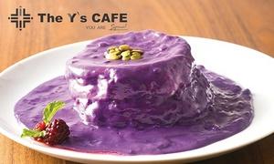 選べるパンケーキ+ソフトドリンクバー|10枚迄利用可|The Y's CAFE|名古屋市中区 大須観音駅