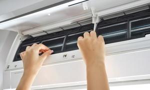 エアコンの大掃除、内部までしっかり≪エアコンクリーニング+家庭用エアコンフィルター取替え1台分+選べるクリーニングサービス2ヶ所≫ @株式会社 レンタル&クリーニング