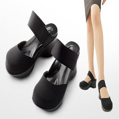 【2サイズ展開】オフィスで大活躍まちがいなし。スラリとした美脚効果と歩きやすさを両立した、医学博士監修の女性にうれしいサンダル《勝野式 やみつき美脚サンダル》