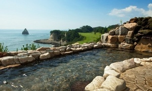 Web予約可・雄大な太平洋を望む絶景の露天風呂で、星空を楽しむ。夜は旬の和会席、朝は和洋バイキングを堪能≪お部屋お任せ/旬香る和会席/チェックアウト11時/1泊2食付≫ @小名浜オーシャンホテル&ゴルフクラブ