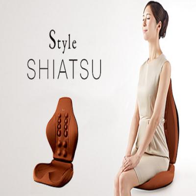 【56%OFF】チェアや座椅子に設置するだけで、いつでも「ながら指圧」を実現。リアルな指圧感を追求し、座るだけで体をケアする指圧シート《Style SHIATSU (スタイルシアツ)》