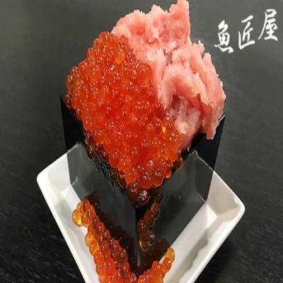 【54%OFF/日本酒10種付き120分飲み放題】北海道根室産の真サバの炙りシメサバ、こぼれイクラとマグロたたき丼の新鮮な美味しさを、個性豊かな日本酒が引き立てる《炙りシメサバ・こぼれイクラとマグロたたき丼コース》