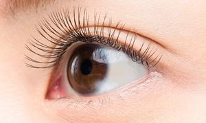 【最大48%OFF】0.05mmのエクステンションを自まつ毛1本に4本づつ装着≪4Dボリュームラッシュ+オフ / 320本~520本の全6メニュー≫ @SOPHIA eye&nail