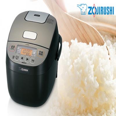 芯までふっくら炊き上げる厚さ5mmの黒厚釜を搭載。白米はもちろん、雑穀米・玄米・金芽米が炊ける健康米メニューも搭載《マイコン炊飯ジャー 極め炊き NL-BU05-BA》