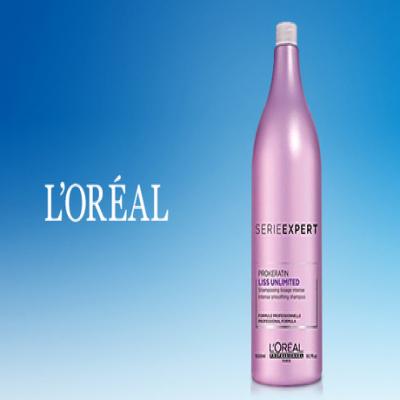 毎日使うシャンプーをサロン級のヘアケアに。まとまりのあるきれいなストレートへ導く《ロレアル セリエ エクスパート リスアンリミテッド シャンプー 1,500mL》