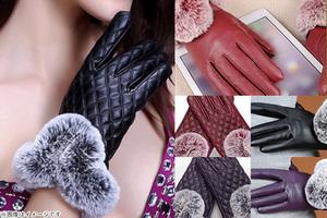 74%OFF【780円】≪☆送料無料☆寒い日にも手袋をつけたままでスマホを操作できる、スマホ手袋♪「レディース PUレザー スマホ手袋」≫