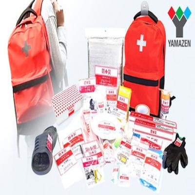 【30点セット】突然やってくる災害に備えて、1人に1袋準備しておきたい「防災バッグ」。災害発生後の一次避難の際に、まず最低限必要となるものをセットに《防災バッグ30》