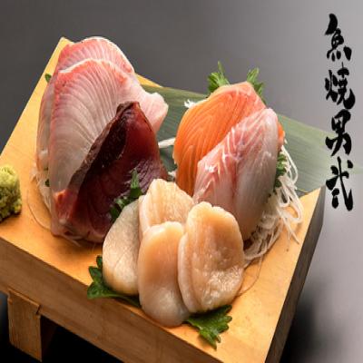 【180分飲み放題/日本酒90種&クラフトビールも】豊富な日本酒と鮮度抜群の魚料理に舌鼓。刺身をはじめ自慢の干物や西京焼など全10品《やきお特上コース+180分飲み放題》