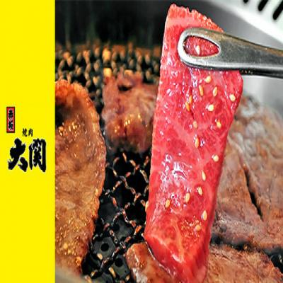 【50%OFF/月~金利用可/予約不要/A5黒毛和牛の焼肉ランチ】東京赤坂の老舗焼肉店の味を『ラゾーナ川崎プラザ』で。A5黒毛和牛の上質な肉の旨味を心ゆくまで満喫《上カルビ・上ロース定食 全6品》