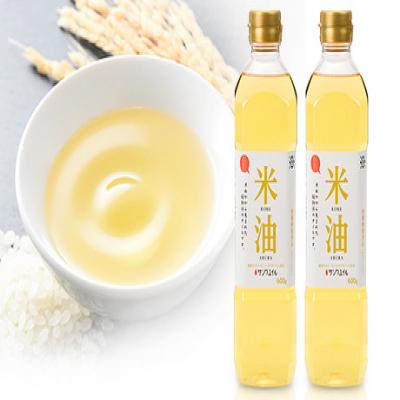 山形県の老舗が造る、毎日使いたい「お米の油」。酸化に強く、サラッとして使いやすさ抜群《こめ油 600g×2本》原料は100%国産米で高品質