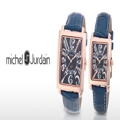 【Michel Jurdain/93%OFF】洗練エレガントな雰囲気を演出するウォッチ。「1」or「7」の数字に煌めく5石の天然ダイヤモンドを配置《SG-3000-8PG/SL-3000-8PG》