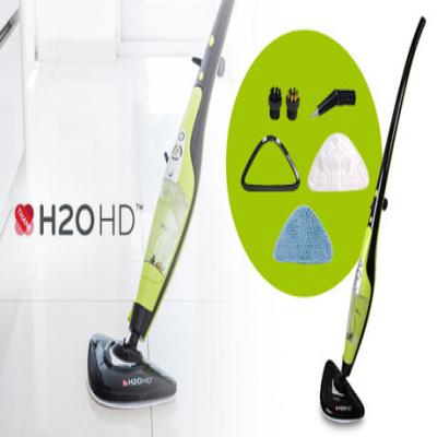 【70%OFF】高温のスチームの力で、リビング・キッチン・浴室の細かな汚れまでスッキリ掃除。スティックとハンディ、手軽に使える2つのスタイル《H2OHDデラックスセット》