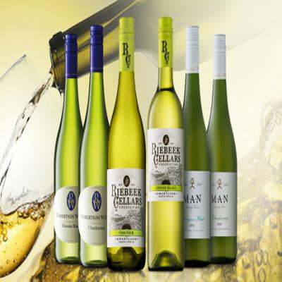 【送料込み】毎日の食卓に、晩酌ワインとしておすすめの白ワイン6本セット。それぞれの違った味わい・香りを飲み比べて楽しめる《南アフリカ デイリーワイン白6本セット》