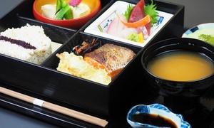 鮮魚の刺身や肉料理など全7品松花堂弁当|1名様~利用可|時たらず|渋谷区 広尾駅