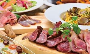 42%OFF 和牛ラム肉と熟成ランプの食べ比べや、生ハム食べ放題など全8品+飲み放題120分|2・3・4名分から選べる|スパークリングワインと熟成肉のイタリアン ボノ セコンド|大阪市中央区 本町駅