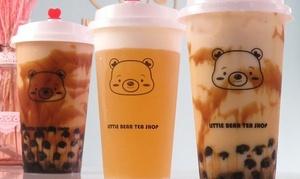 14種類から選べるタピオカミルクティー(Mサイズ)|予約不要・テイクアウト限定|Little Bear Tea Shop|大阪市 難波駅