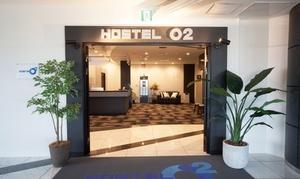 2019年8月OPEN、高速道路PA国内初のカプセルホテルが、グルーポン初登場!旅路の疲れをリセット≪TV付キューブ型/酸素ルーム45分付/1泊素泊り≫全日同料金 @HOSTEL O2(ホステロツー)