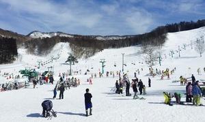 今シーズンは、スキー&スノボデビュー≪1日リフト券+(スキー or ボードセットレンタル)+奥利根温泉利用≫週末利用OK・駐車場有 @水上高原藤原スキー場