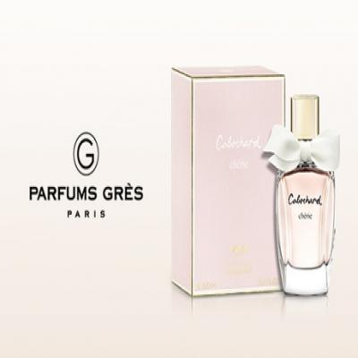 【60%OFF】洗練された大人の女性に。より優美で華やかさを演出する、みずみずしいフローラルブーケの香り《グレ カボシャールシェリー EDP 100mL》