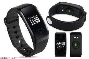 【2,899円】≪☆送料無料☆腕時計+健康管理、毎日の体調をチェック!タッチパネル操作で簡単、スマホと連動で記録を確認できちゃいます☆「スマートヘルスウォッチ」≫