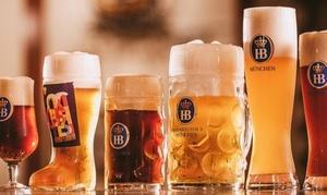 樽生ドイツビールなど飲み放題180分|ツムビアホフ 新宿東口店|新宿区 新宿駅