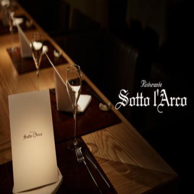 【Ristorante Sotto l' Arco】【Wメインの全10品】星付き店で修行したシェフが特別な食材で創り出す渾身のイタリアン《ディナーコース》