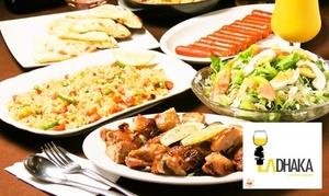 51%OFF フライドポテトとチーズナンが食べ放題|ラダッカコース全6品+飲み放題120分|2・3・4名分から選べる|1名30枚まで・当日予約可|多国籍肉バル酒場 赤坂 LA DHAKA(ラダッカ)|港区 赤坂駅