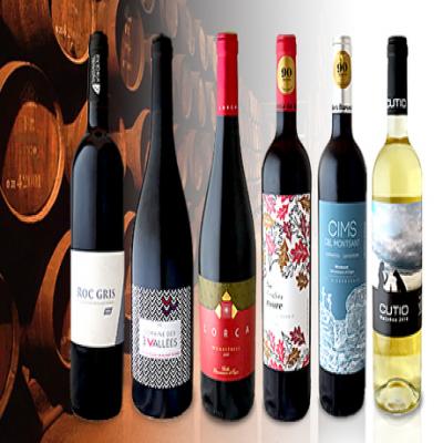【送料込み】6本すべてがパーカーポイント90点以上を獲得。フランス産・スペイン産の実力派ワインをじっくりと飲み比べて堪能する贅沢なセット《パーカーポイント高得点ワイン 6本セット》