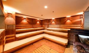 サウナ ルーマプラザ レギュラーコースお好きなお酒+おつまみのセット付き|男性専用|ロッキーサウナや屋上露天風呂を完備!男のための癒し空間でリフレッシュ!