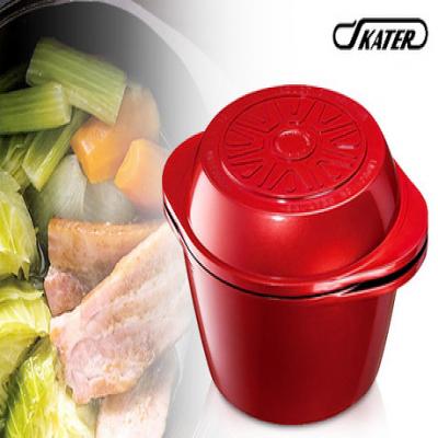 旨みを引き出し、栄養を逃さない。使い方4パターンの深鍋・浅鍋・ガラスブタの3点セット《水なし万能鍋》オール熱源対応