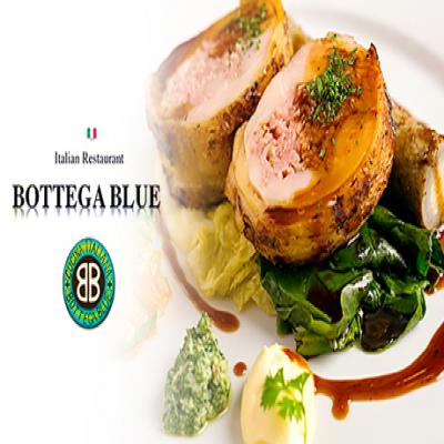 【イタリア料理 BOTTEGA BLUE】【1ドリンク付き】日本チャンピオンのシェフが腕によりをかけた、素材本来の味を引き出す絶品イタリア料理《ディナーコース》