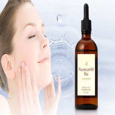 【77%OFF】プラセンタ原液100%の美容液。肌環境を整え、透明感溢れる美肌へと導く《プラセントケア100プラス 100mL》