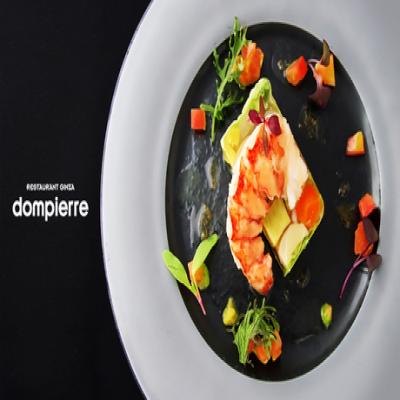 【レストラン ドンピエール 銀座本店】【ペアリング6杯】創業35年の正統派フレンチで、全8皿のおまかせフルコース。ワゴンデザートなど多彩な美食を堪能《ディナーコース》
