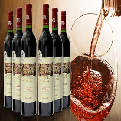 【57%OFF/送料込み】果実の香りと甘さに酔いしれる、フランス産の赤ワイン。コク・酸味・渋味がバランスよくマッチ《タンブル エ シャトー メルロー 6本セット》